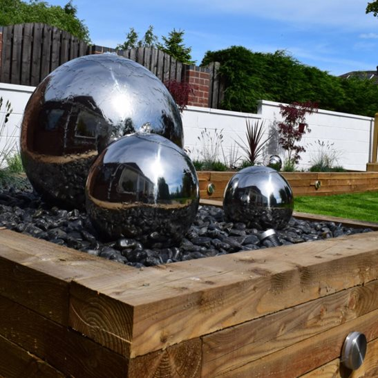 Charmant Large Outdoor Abstract Stainless Steel Sphere Sculpture