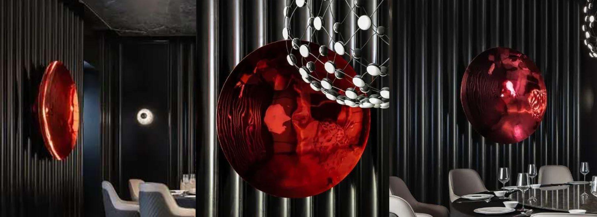 Concave Mirror Sculpture 101